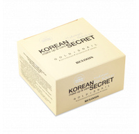 RELOUIS Патчи гидрогелевые  KOREAN SECRET MAKE UP & CARE HYDROGEL EYE PATCHES - GOLD+SNAIL